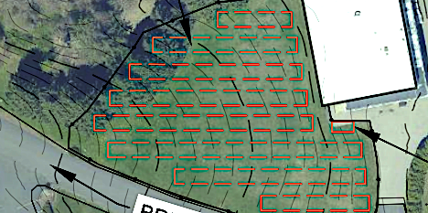 Planned large scale solar panel installation in East Greenwich Rhode Island